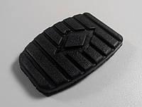 Резиновая накладка педали сцепления / тормоза с логотипом Рено