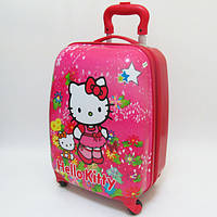 "Детский чемодан дорожный ""Josef Otten"" Hello Kitty-2 на четырех колесах 520277"