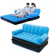 Надувной диван - трансформер 5 в 1 Софа Бэд, кровать Sofa Bed 5 в 1, фото 1