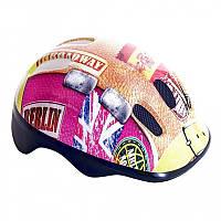 Шлем велосипедный детский Spokey globetrotter /837137