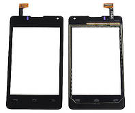 Тачскрин сенсорное стекло для Huawei Ascend Y300/Y300D U8833 black