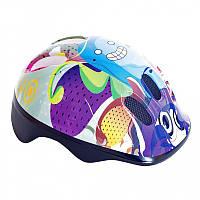 Шлем велосипедный детский Spokey пузыри /837130