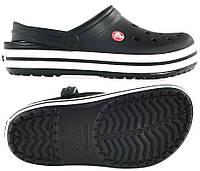Crocs crocband черные
