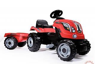Трактор педальный Farmer XL красный Smoby 710108