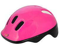 Велосипедный шлем Axer happy рефлекс розовый роз s /a1390