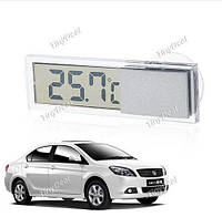Термометр электронный прозрачный автомобильный  К-036