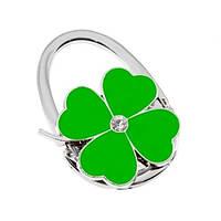 Сумкодержатель сумочка цветок клевера зелёный