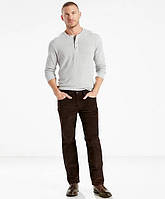 Вельветовые брюки Levis 514 -  Black Coffee