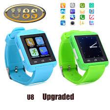 Smart Watch Умные часы U8 S голубые