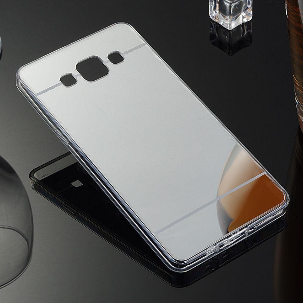 Силиконовый чехол для Samsung Galaxy J1/J100 зеркальный, G47