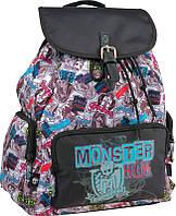 Рюкзак молодежный Monster High KITE MH15-965S