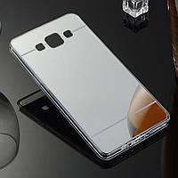Силиконовый чехол для Samsung Galaxy A7 A700 зеркальный, G593