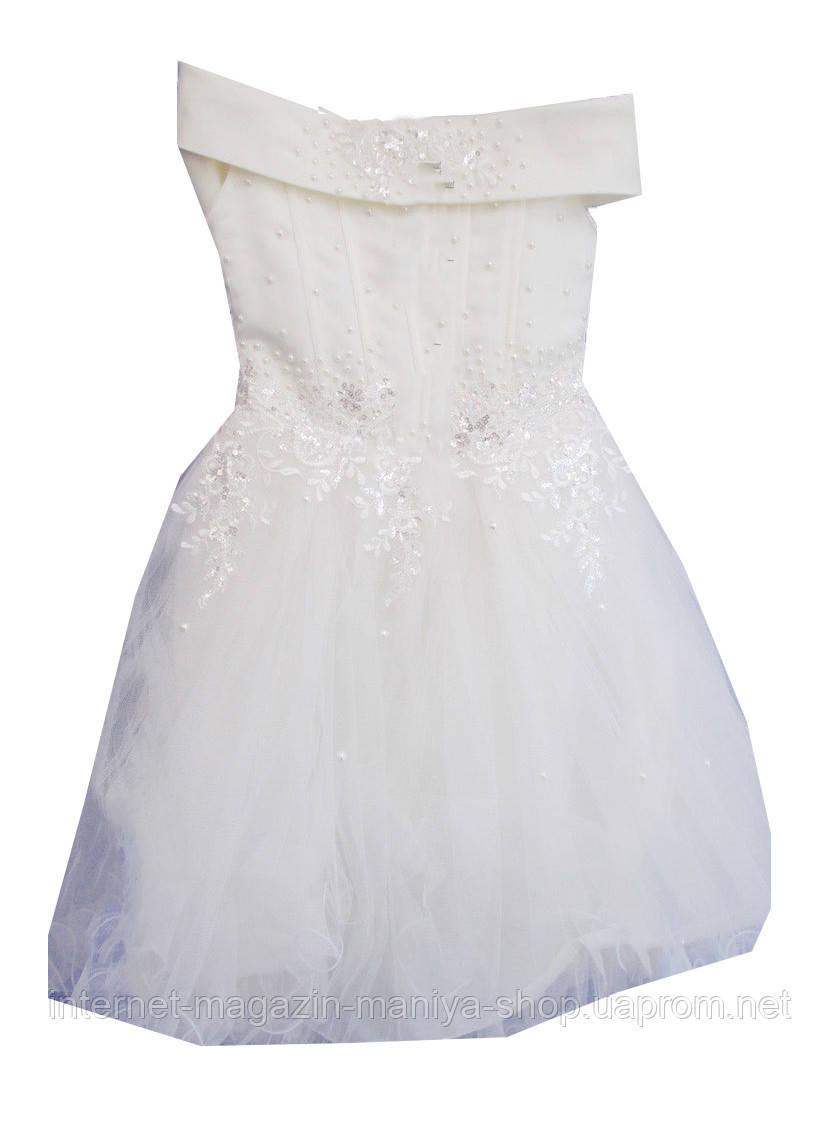 Детское бальное платье на девочку
