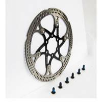 Тормозной диск на алюминиевом пауке  180 SPENCER