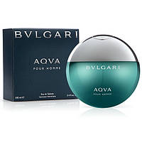 Мужская туалетная вода Bvlgari Aqva Pour Homme for Men Eu de Toilette (EDT) 100ml, фото 1