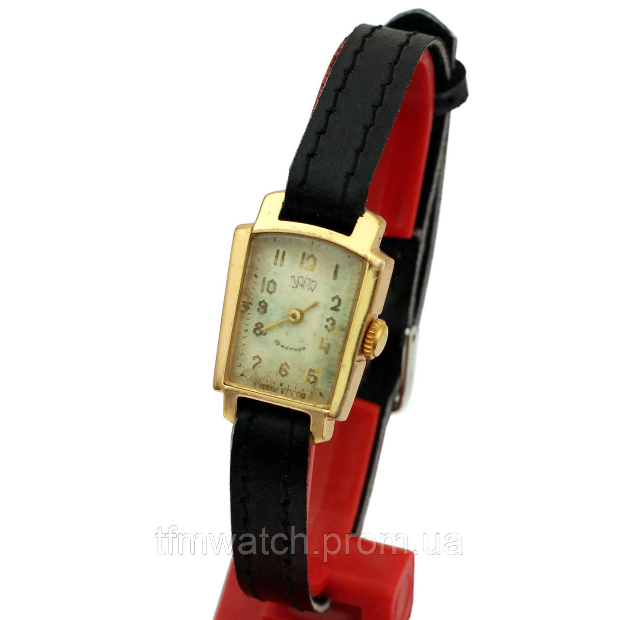 Женские советские часы Заря 16 камней