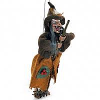 Баба Яга на верёвке 40 см