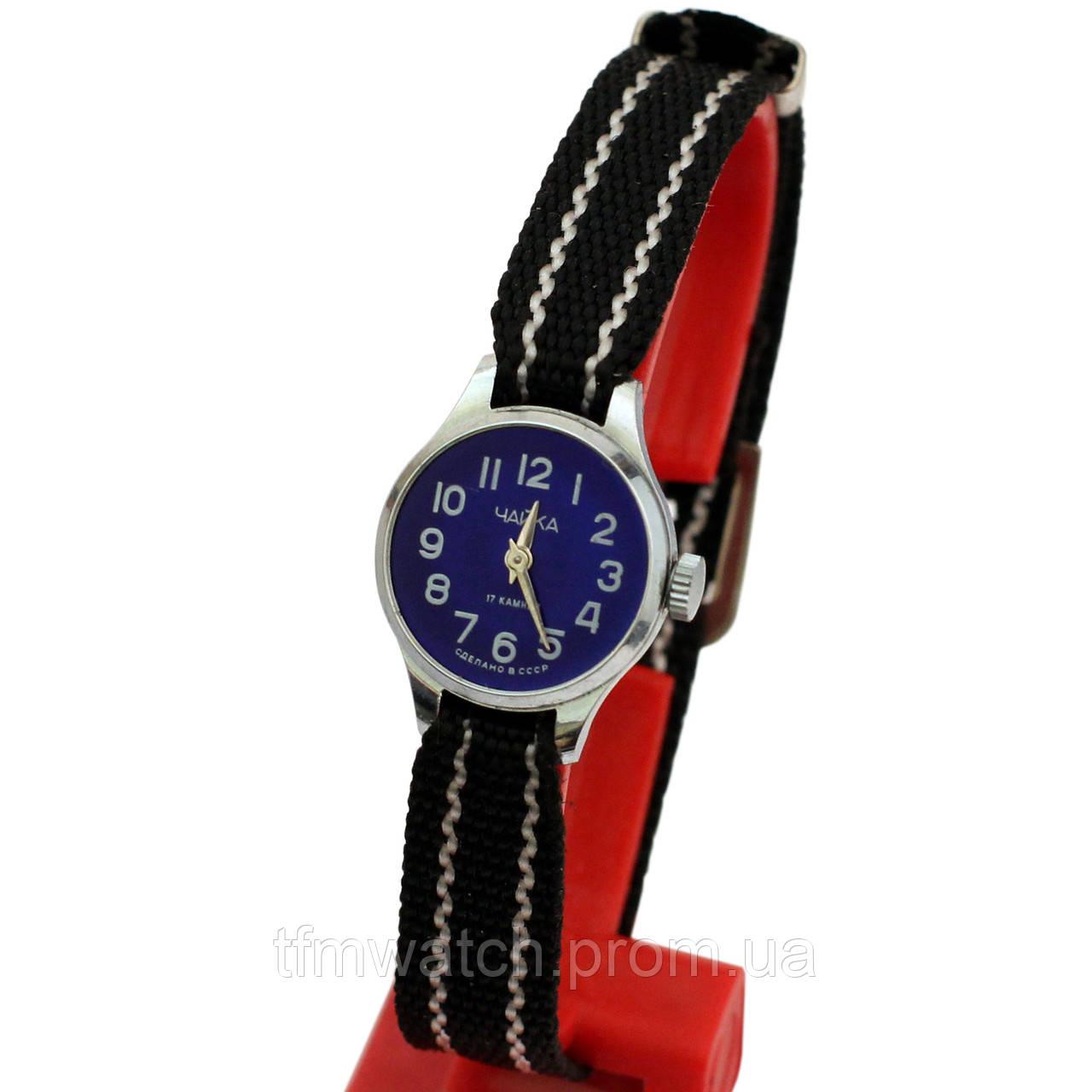 Женские механические часы Чайка 17 камней