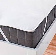 Наматрасник непромокаемый Ютек Tencel на резинках по углам 160х200 см