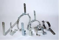 Элементы молниезащиты и заземления  (Lightning protection and grounding hardware)