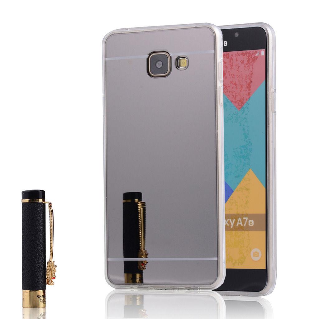 Силиконовый чехол для Samsung Galaxy A7 2016 A710 зеркальный, G941