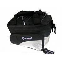 Велосипедная сумка на багажник  30*18*20 см, 12 л 1680d SPENCER