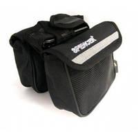 Велосипедная сумка на раму 2kom с местом на мобильник SPENCER