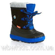 acc8fdb2fbdd14 Зимові чобітки (зимние дутики) Demar Billy чорно-синій, р. 20/21 ...