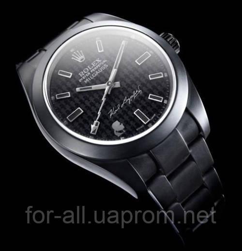 Часы, Rolex Oyster Perpetual MilgaussК, Карл Лагерфельд, новости часы