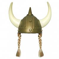 Шлем Викинга с косичками