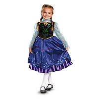 Карнавальный костюм принцесса Анна Холодное сердце Disney's Frozen Anna Deluxe Girl's Costume 7-8 лет, Киев, фото 1