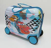 Детский чемодан на 4 колесах Тачки, Cars 520287