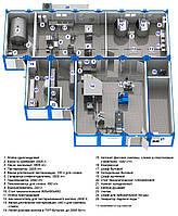 Модульный завод по переработке молока