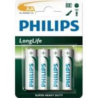 Батарейки r6 aa philips longlife 4 шт.
