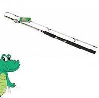 Карповое удилище  Крокодил(Crocodile), спиннинг 2.4м,  тест100-250, товары для рыбалки