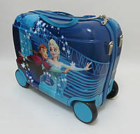 Детский чемодан - каталка на 4 колесах Холодное Сердце, Frozen 520290