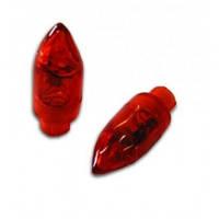 Клапан блестящий картридж 2 led красный