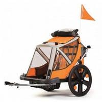 Прицеп велосипедный bellelli бимбо b-travel orange BELLELLI