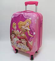"""Детский чемодан дорожный, кодовый замок,  """"Josef Otten"""" Принцессы Princess на четырех колесах 520294"""