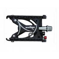 Педаль wellgo c193 black  подшипников пулеметы WELLGO