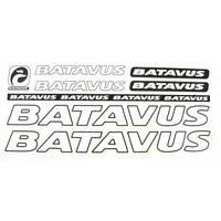Наклейка batavus белый 5 шт. комплект