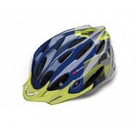 Шлем b-skin regular l (58-60 см) зеленый темно-синий B-SKIN