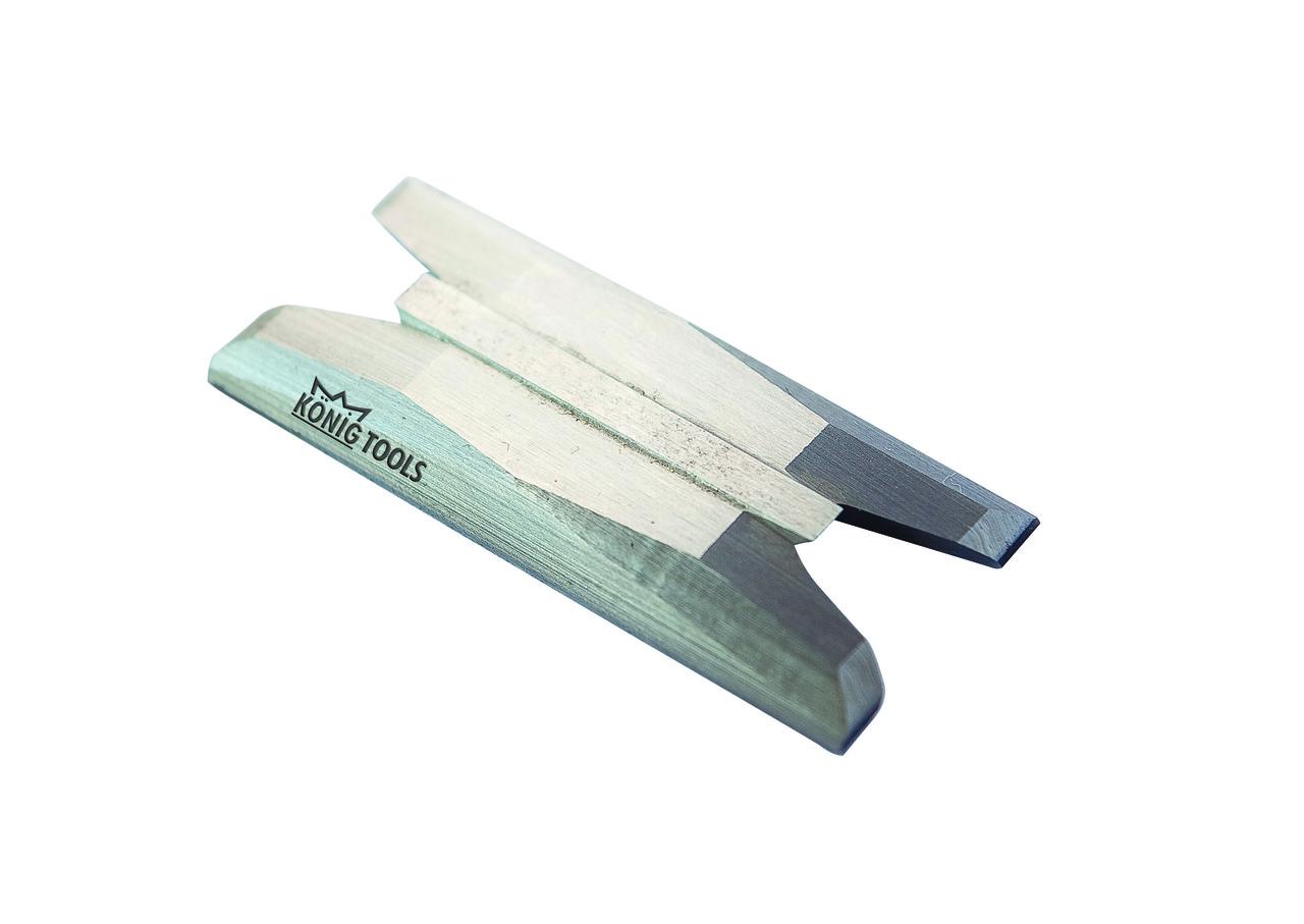 Зачисний ніж. Wegoma Makine