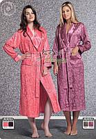 Шелковый женский халат Nusa №9210
