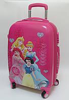 """Детский чемодан дорожный, кодовый замок """"Josef Otten"""" Принцессы Princess 20"""" на четырех колесах 520301"""