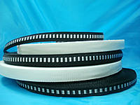 Тесьма сумочная 1,5 см. 50 м . белая (турция)