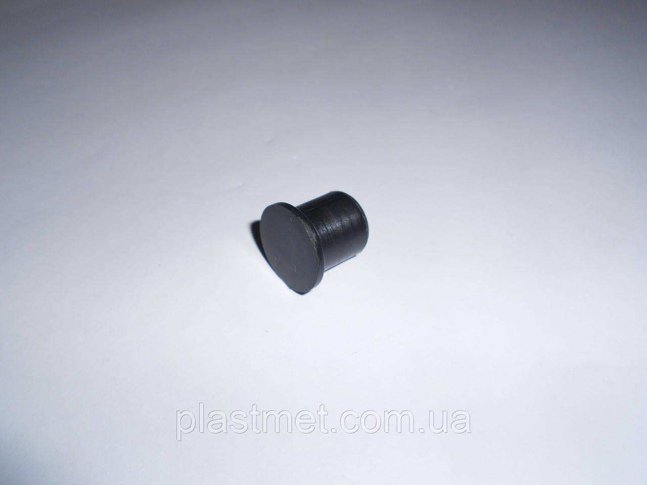 Заглушка для труби кругла 20 мм пластикова