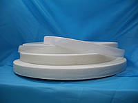 Тесьма сумочная 2 см 50м. белая жесткая Турция