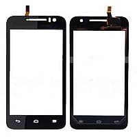 Тачскрин сенсорное стекло для Huawei G330D U8825 black