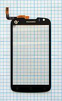 Тачскрин сенсорное стекло для Huawei U8828 black